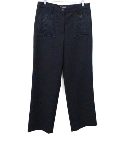 michaels luxury consignment Chanel black wool pants