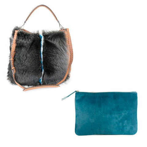 fur bags at michael's consignment shop for women