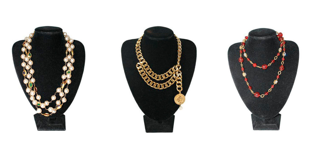 shop necklaces at michael's consignment shop for women