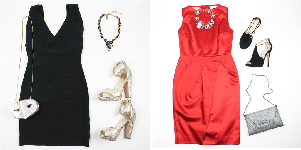 Holiday Party Outfits at michael's consignment shop for women