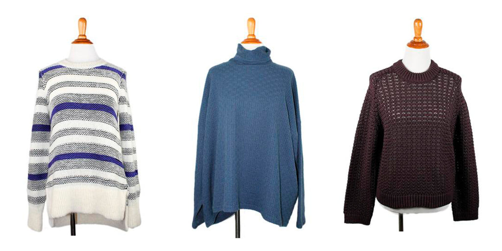 shop sweaters at michael's consignment shop for women