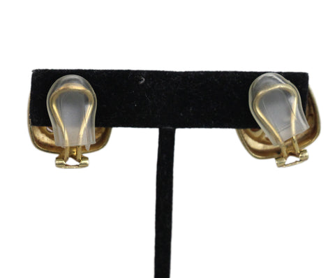 14K Gold Pearl earrings 1