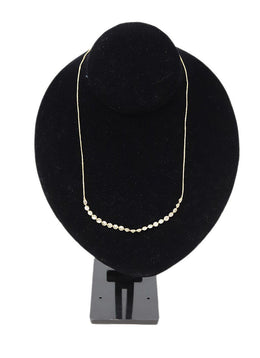 14K Gold Cubic Zirconia Necklace