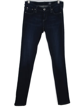 Ag Blue Denim Pants 1