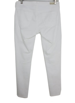Ag White Denim Pants 2