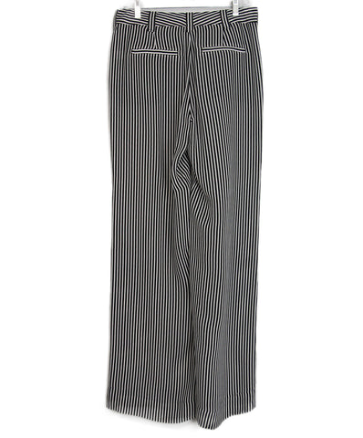 A.L.C. Black White stripes pants 1