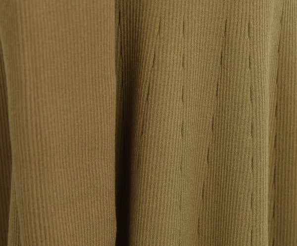 A.L.C. Neutral Tan Viscose Polyester Dress 7