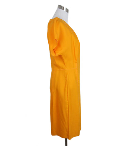 Acne Orange Lyocell Dress 1