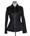 Acne Black Leather Jacket 1