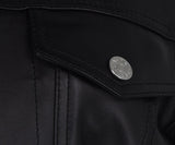 Acne Black Leather Jacket 5