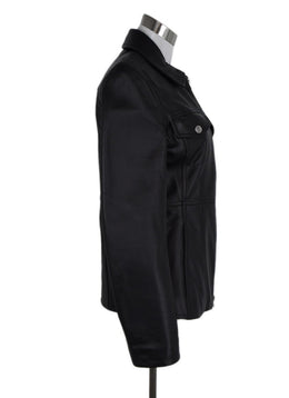 Acne Black Leather Jacket 2