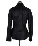 Acne Black Leather Jacket 3