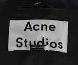Acne Black Leather Jacket 4