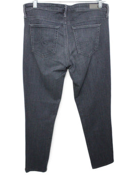 Ag Size 8 Grey Denim Pants 2
