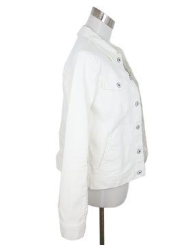 Ag White Cotton Jacket 2