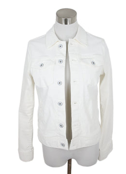 Ag White Cotton Jacket 1