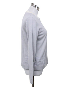 Akris Grey Cashmere Silk Sweater Set 1