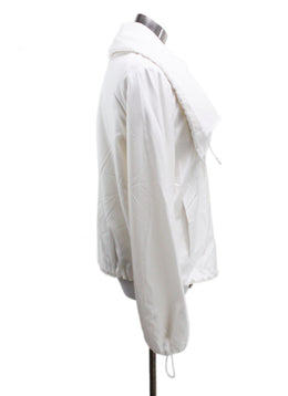 Akris Neutral Ivory Viscose Outerwear 1