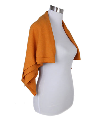 Akris Orange Scarf 1