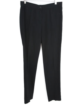 Akris Punto Black Knit Pants 1