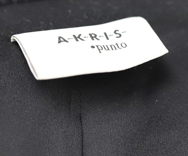 Akris Punto Black Wool Fox Fur Trim Sweater 4