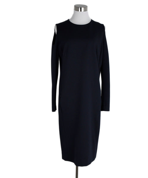 Akris Punto Navy Cotton Spandex Dress 1