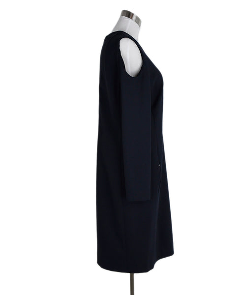 Akris Punto Navy Cotton Spandex Dress 2