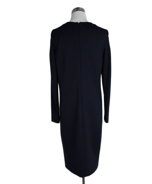 Akris Punto Navy Cotton Spandex Dress 3