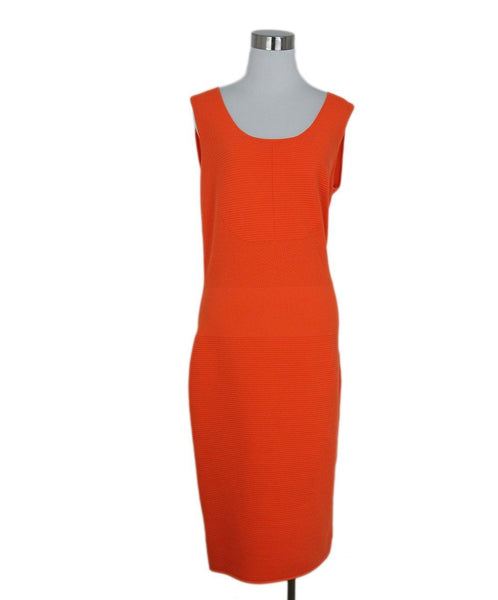 Akris Punto orange dress 1