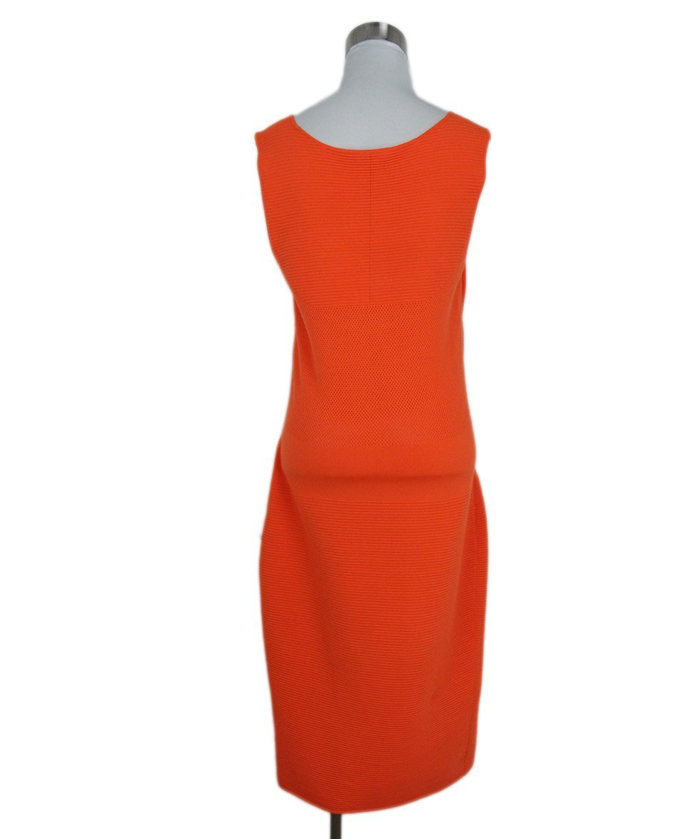 Akris Punto orange dress 3