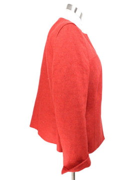 Akris Red Cashmere Silk Jacket 2