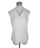 Akris White Cotton Blouse 1