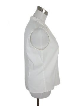 Akris White Cotton Blouse 2
