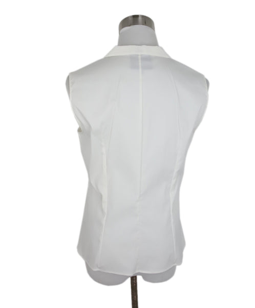 Akris White Cotton Blouse 3