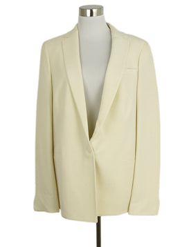 Akris Neutral Ivory Wool Jacket 1