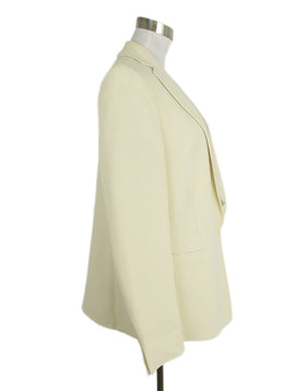 Akris Neutral Ivory Wool Jacket 2
