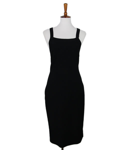 Alaia Black Strappy Dress 1