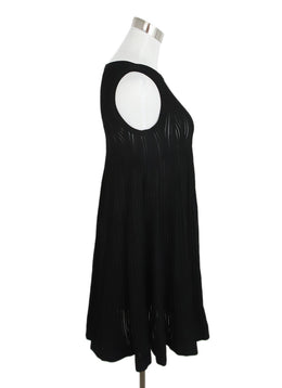 Alaia Black Viscose Polyester Dress 2