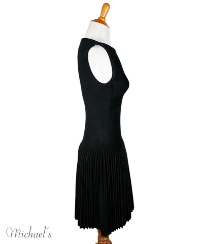 Alaia Black Viscose Dress Sz 40