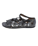 Alaia Metallic Silver Leather Studs Shoes 2