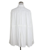 Alaia White Cotton Longsleeve Top 3