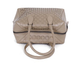 Alaia Neutral Beige Cutwork Leather Satchel  Handbag 5