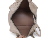 Alaia Neutral Beige Cutwork Leather Satchel  Handbag 6
