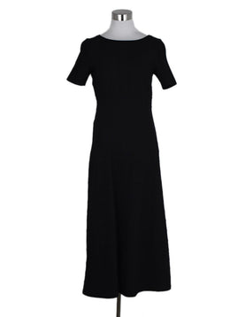 Alaia Black Textured Polyamide Spandex Dress 1