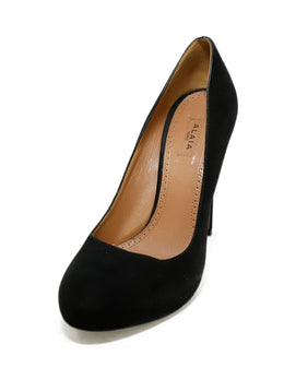 Alaia Black Suede Shoes 1