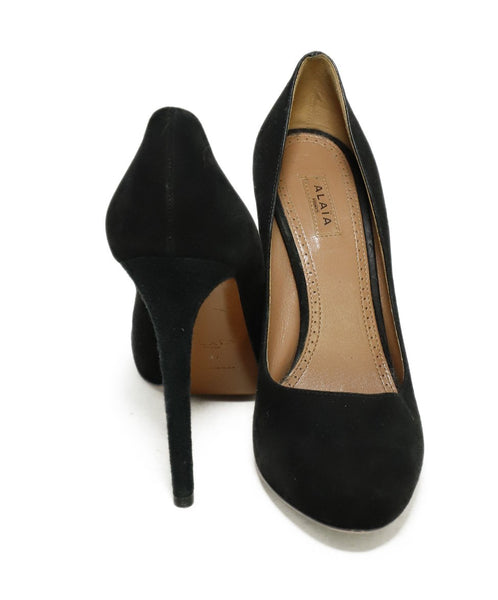 Alaia Black Suede Shoes 3