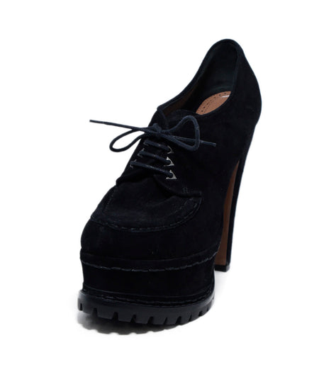 Alaia Black Suede Shoes Sz 37