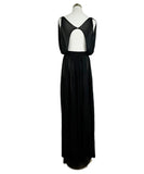 Long Alaia Size 4 Black Viscose Dress 1