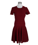 Alaia Red Wool Viscose Dress 1