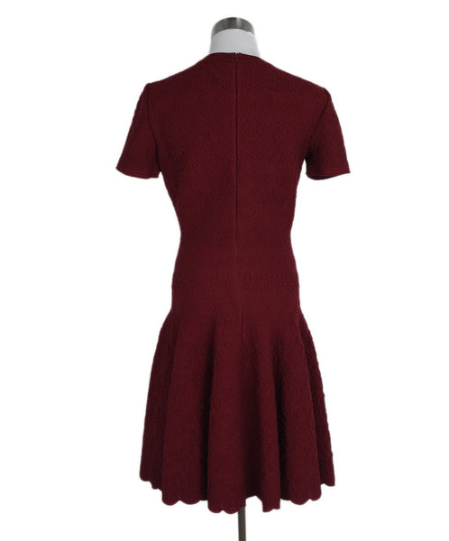 Alaia Red Wool Viscose Dress 3